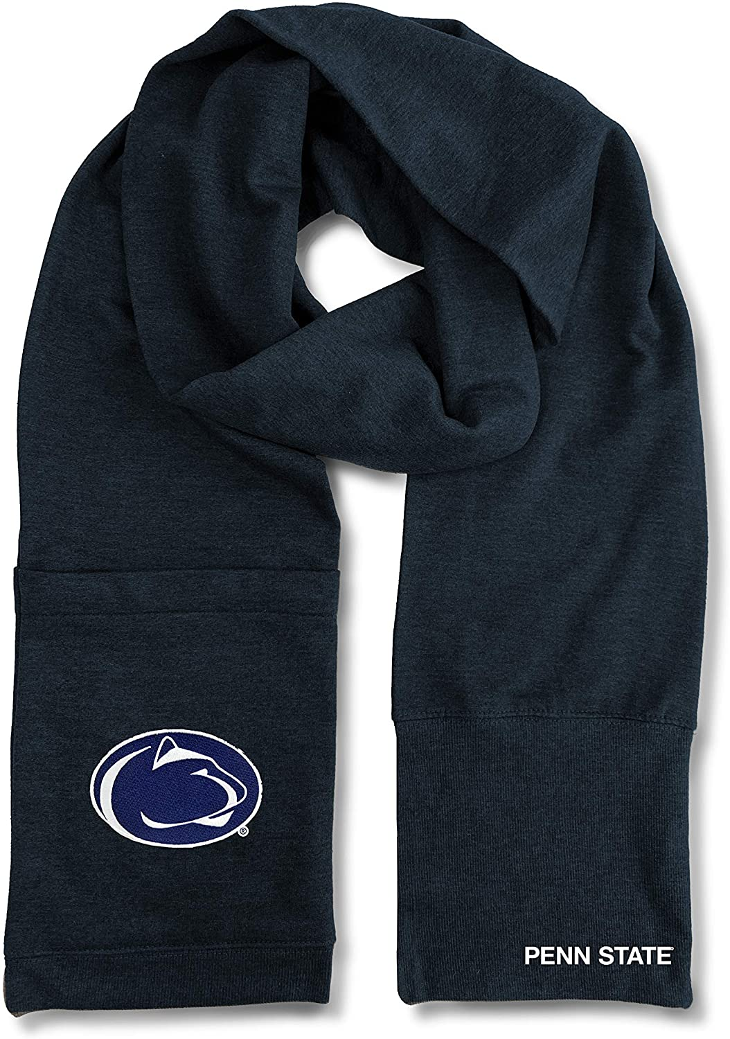 Littlearth NCAA Penn State Nittany Lions Jimmy Bean 4-in-1 Scarf, Team Color, Length 82
