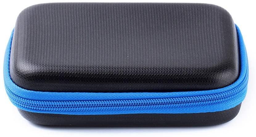 Meijunter EVA Portable Travel Hard Bag Protective Case Cover Box for SONY Portable Headphone Amplifier PHA-2A(Blue+Black)