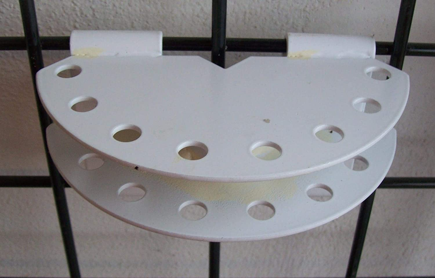 Gridwire Swing It Display White Finish