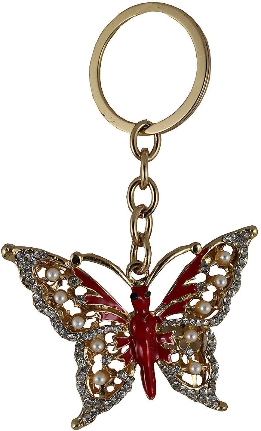 Odishabazaar Key Ring Hooks Keychain for Women Purse Bag Charms Ornaments (DY3)
