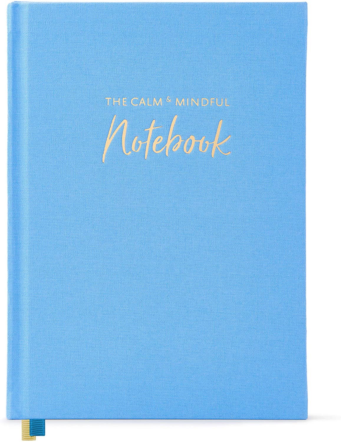 """The Calm & Mindful Notebook – Guided Mindfulness and Self Care Journal with Writing Prompts – 252 Hardbound Pages Promote Self Kindness, Meditation, Stress Relief and Gratitude (8.5"""" x 6"""")"""