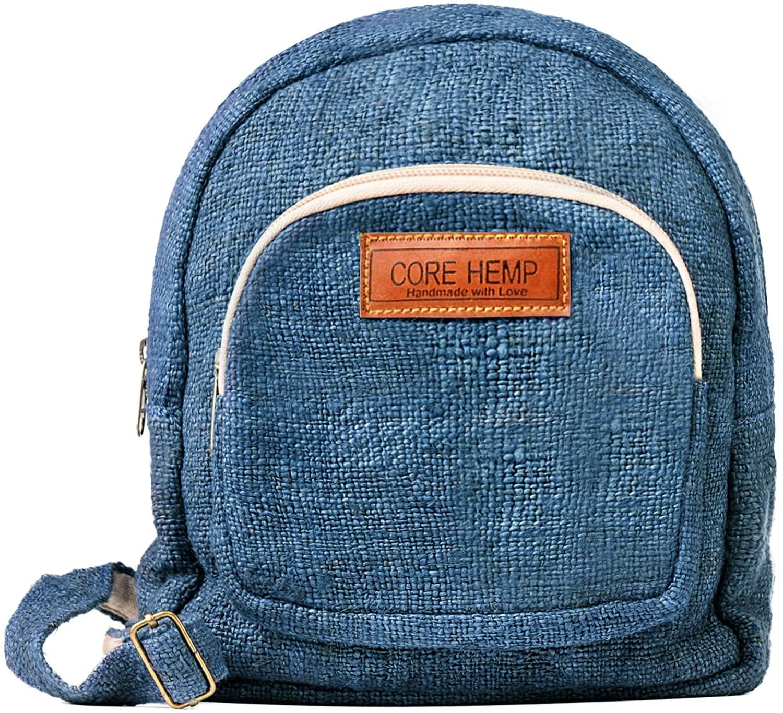 Core Hemp Mini Backpack (Blue)