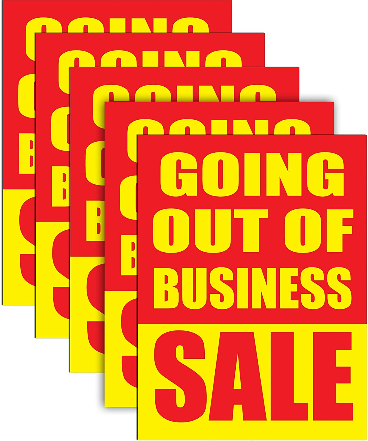 Going Out of Business Sale 18