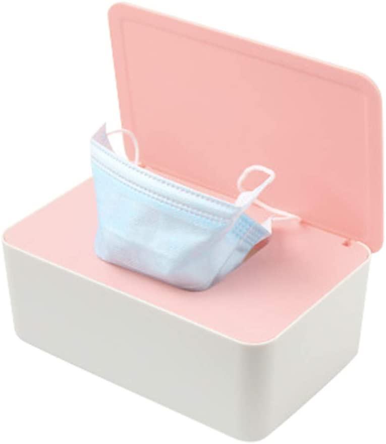 Yuyoo Practical Paper Storage Box & Facemask Storage Box,Plastic Storage Case Organizer Reusable Keeper Folder,Anti pollution Storage Box