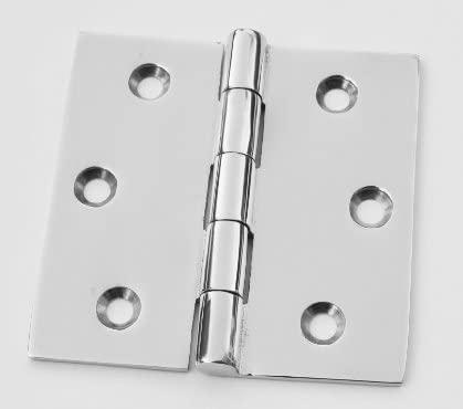 Marine Grade Stainless Steel Butt Hinge 2-1/2