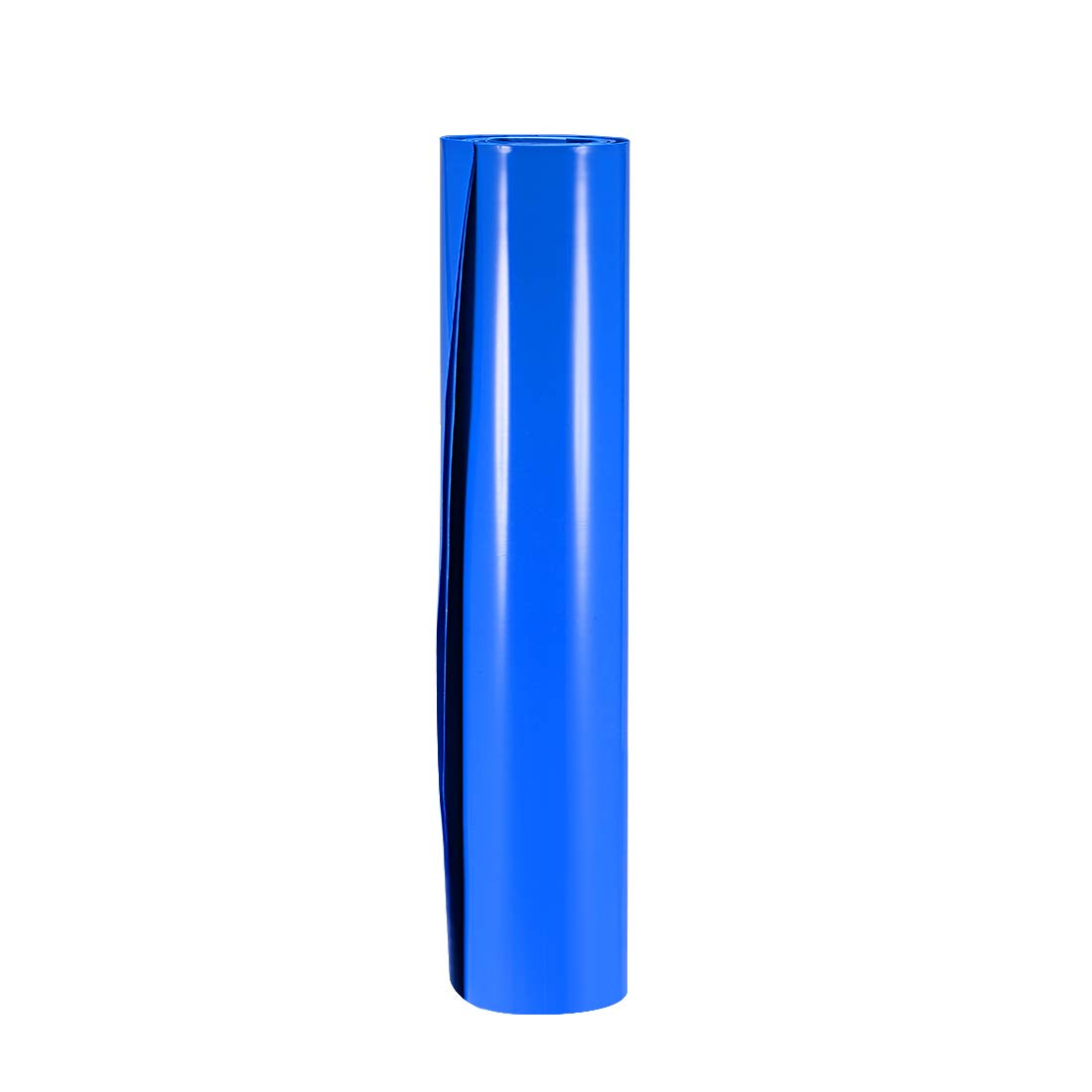 uxcell Battery Wrap, 300mm Flat Width 191mm Dia 1m PVC Heat Shrink Tube Wraps for Big Battery Pack Blue