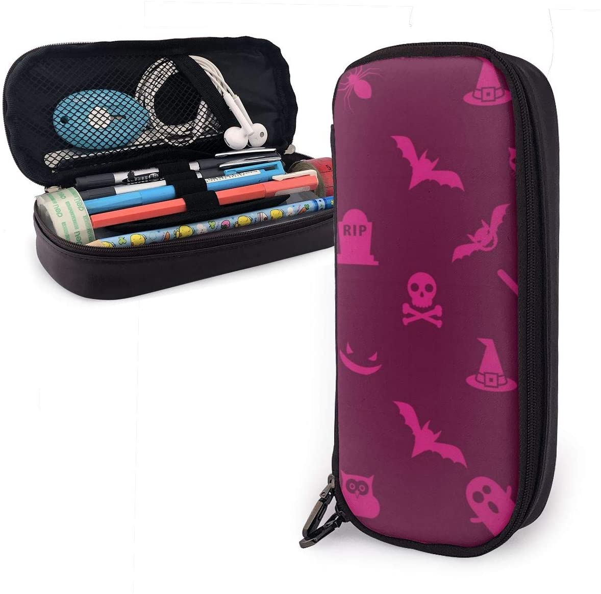 Pencil Bag Pen Case Students Stationery Pouch Zipper Pen Case Box for Pens Pencils Drawing Painting Kids - Large Capacity Toiletry Bag
