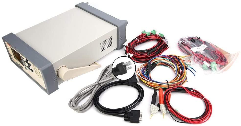 Battery Internal Resistance Meter, AT5210 Multi-Channel Battery Tester Internal Resistance Meter Measuring Instrument (US)