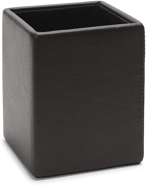 Leatherology Black Onyx Pencil Cup