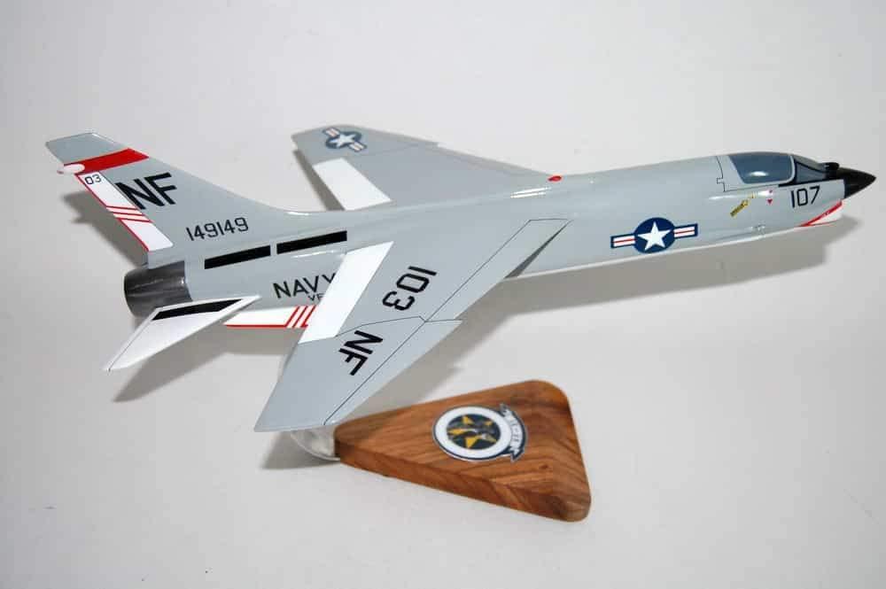 VF-51 Screaming Eagles F-8J Model