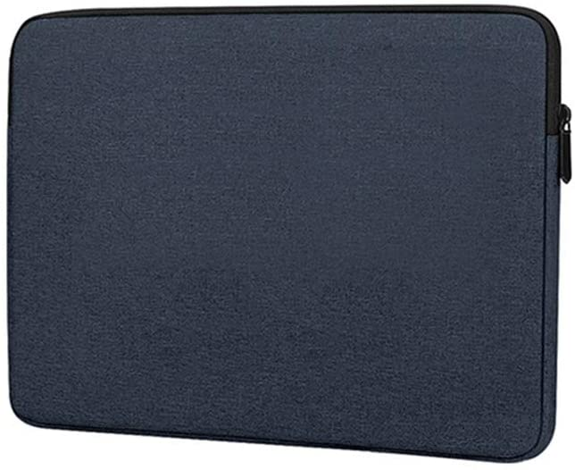 13.3 15.6 inch Laptop Bag Sleeve Case Notebook Cover Protective Pouch (15 inch (Fit 15-15.6 inch Laptop), Navy Blue)