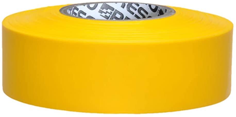 Presco Arctic Roll Flagging Tape: 1-3/16 in x 300 ft. (Yellow)