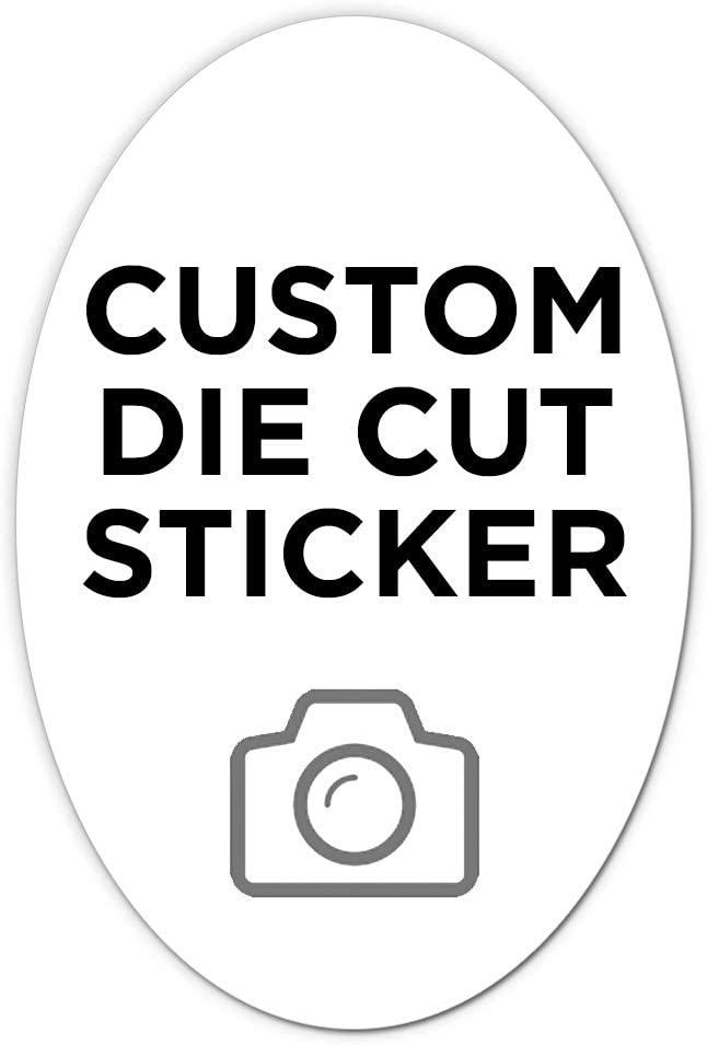 500 Oval Custom Die Cut Stickers 2
