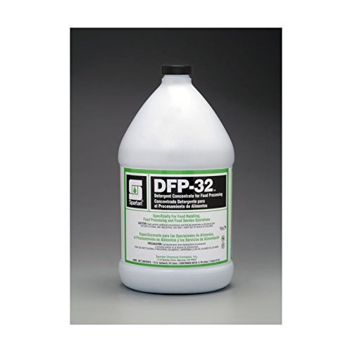 Spartan DFP-32 Food Processing Cleaner, Gallons,4 Per Case