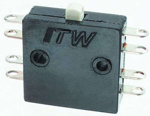 26-810 - Microswitch, Subminiature, Pin Plunger, DPDT, Solder, 8 A, 28 VDC