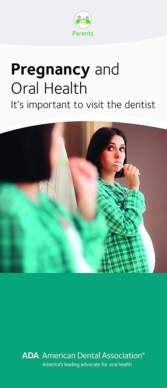 Pregnancy and Oral Health - ADA Patient Education Brochure, 8 Panels, Pack of 50