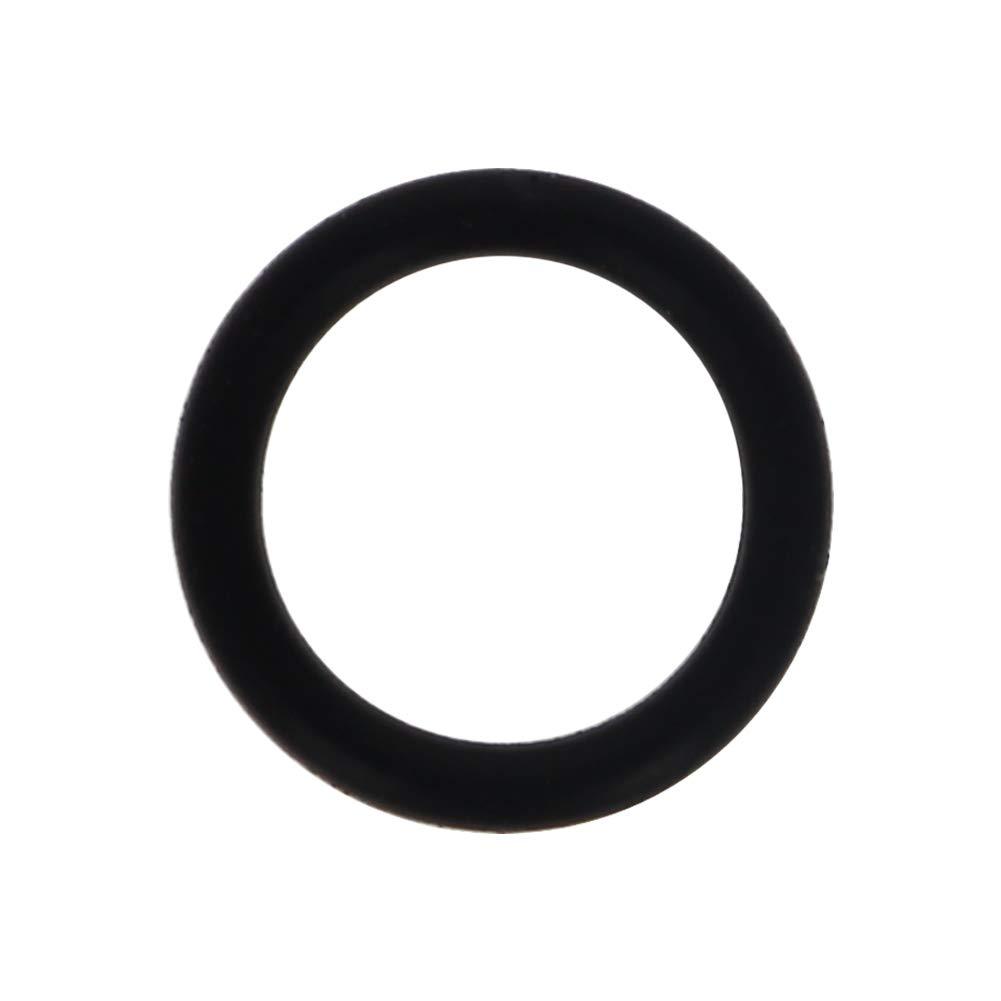 Othmro 7mmx4mmx1.5mm Black Nitrile Rubber Sealing O Rings Gaskets Washers 10pcs