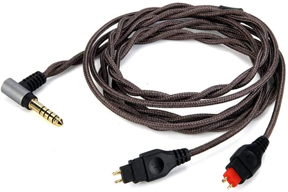 OKCSC Headphones Cable Replacement Upgrade Cable with 4.4mm Balanced Plug for SENNHEISER Earphones HD650 HD600 HD580 HD535 HD545 HD565 HD265