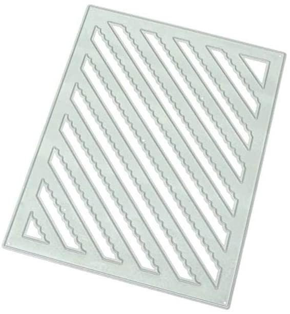 minansostey Twill Square Metal Cutting Dies,DIY Scrapbooking Paper Stamping Die Decor