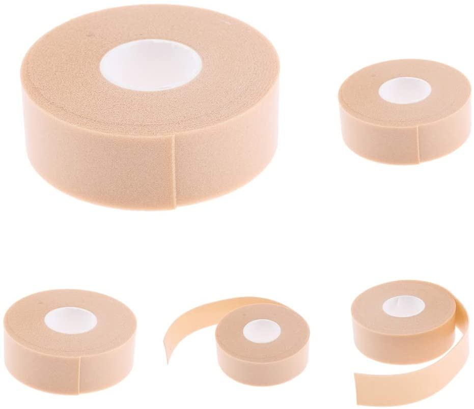 5 Rolls 2.5m Adhesive Blister Bandage - Waterproof Hydrocolloid Bandage for Foot, Toe, Heel Blister Prevention - Blister Pads