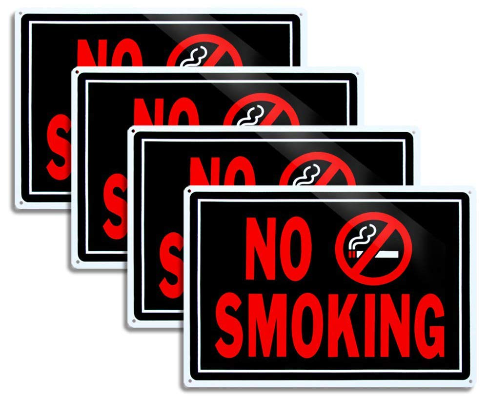 No Smoking Signs for Business No Vaping Sign 10