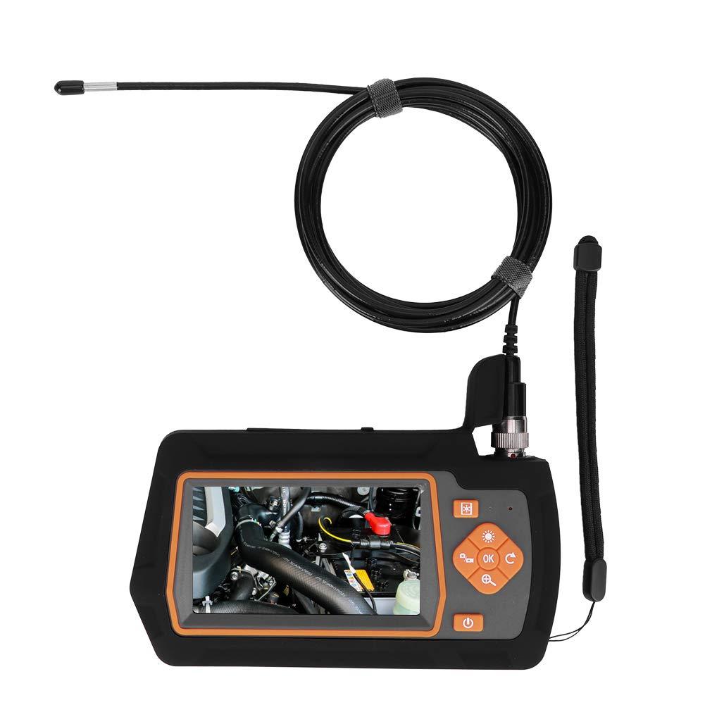 3.9mm Endoscope Camera,4.3 Inch Screen Waterproof HD Camera Industrial Borescope Snake Camera for Automobile Maintenance