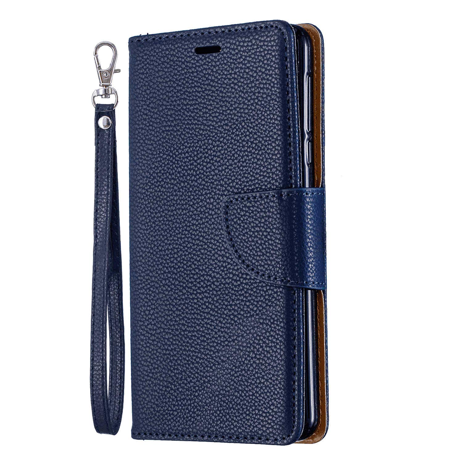 Dream2Fancy Flip Case for iPhone Xs, Leather Cover Business Gifts Wallet with Extra Waterproof Underwater Case