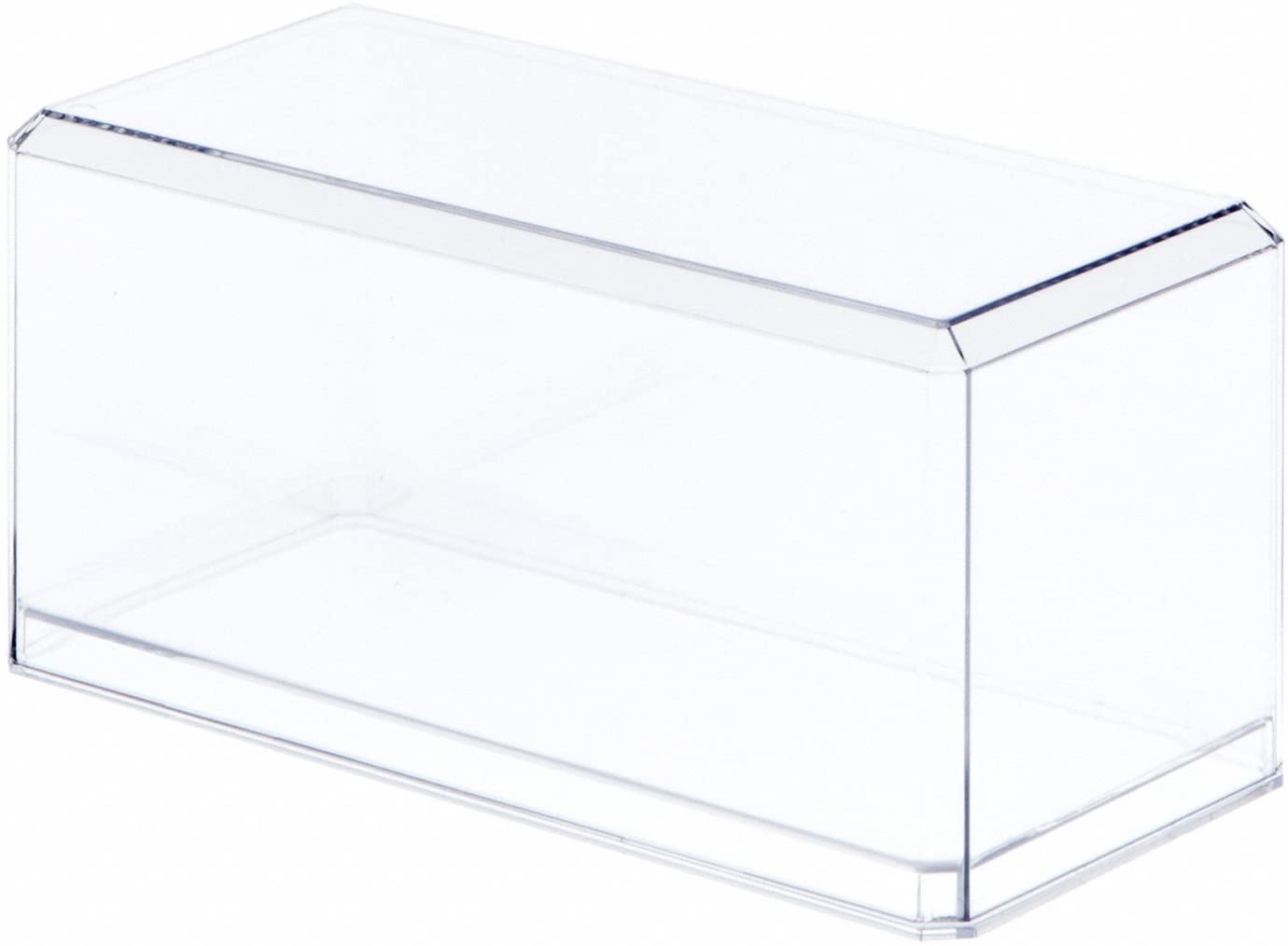 Pioneer Plastics 1/32 Clear Plastic Display Case - Stackable