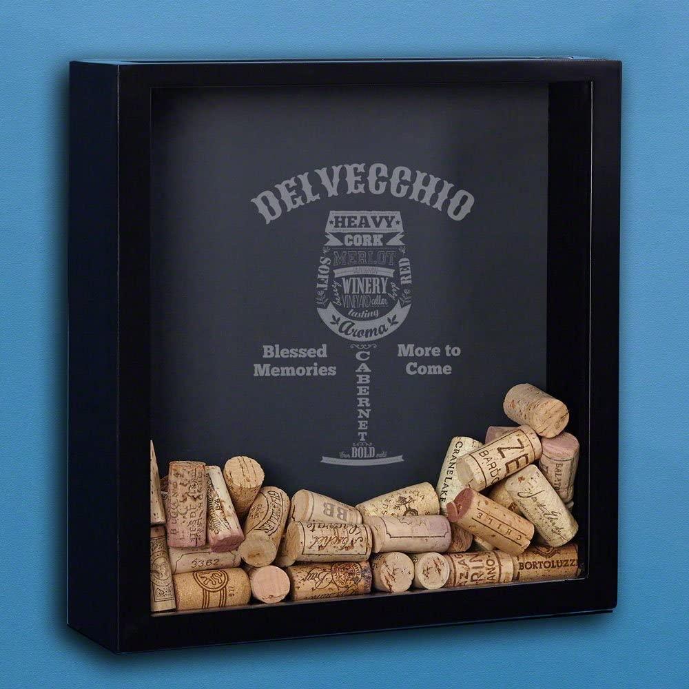 Modern Wine Custom Shadow Box (Personalized Product)