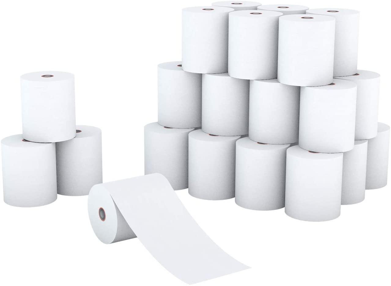 Printholic Thermal Paper Rolls 2-1/4 x 50' Credit Card Paper for POS Receipt Paper (30 Rolls)-Thermal-paper-rolls …