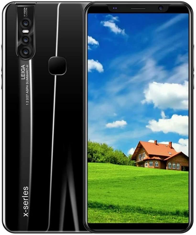 SALE & CLEARANCE 2019 New Unlocked Cell Phone, 5.8 inch Ultrathin Dual SIM Unlocked Smartphone, Android 8.0 1G+4G GPS 3G Touch Screen Smartphone Mobile Phone (Black)
