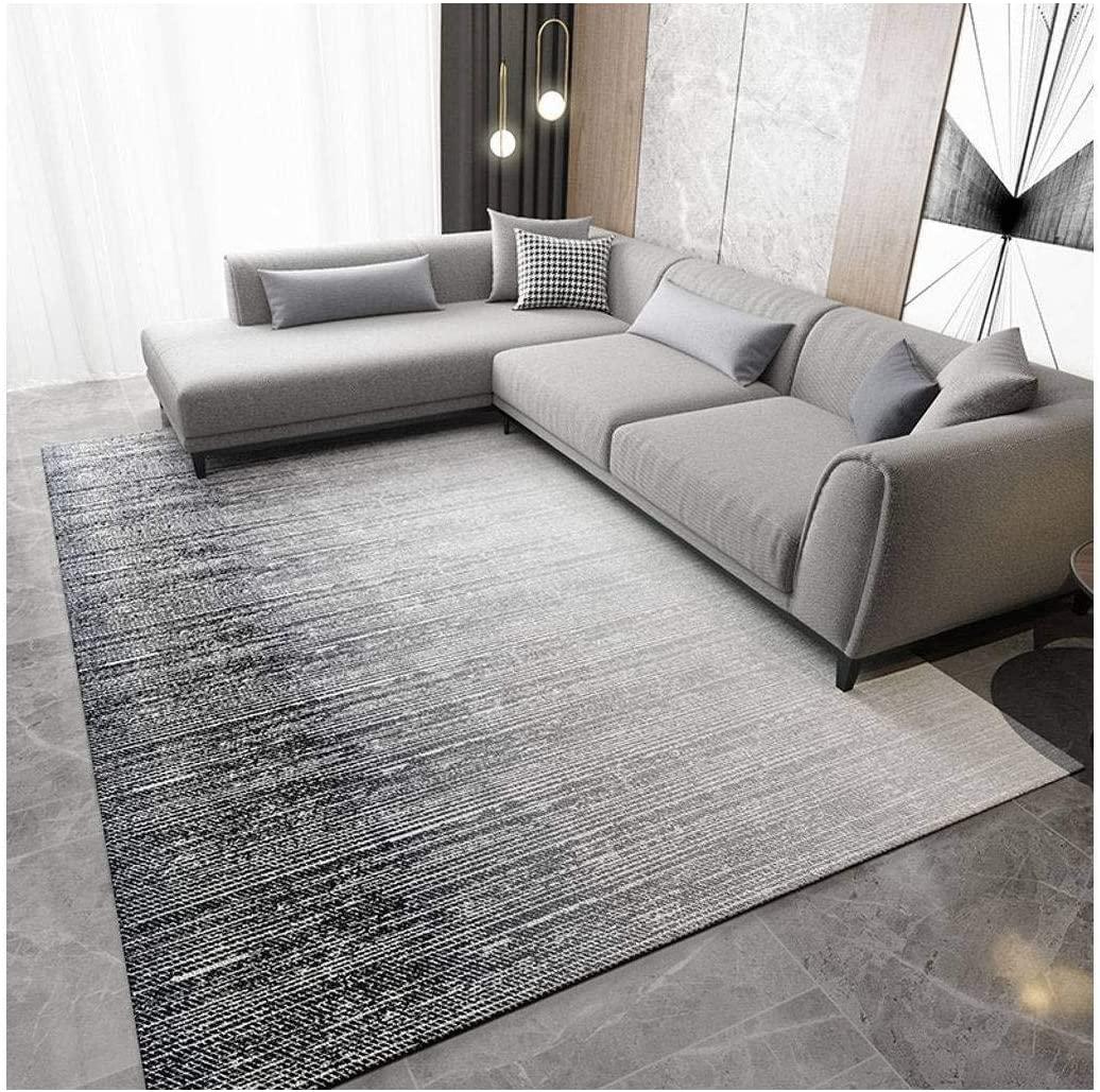 XHCP Carpet Rectangle Modern Rug Soft Area Rugs for Living Room Nursery Hotel Hall Corridor Indoor Decor-230cmx160cm-ASH-03