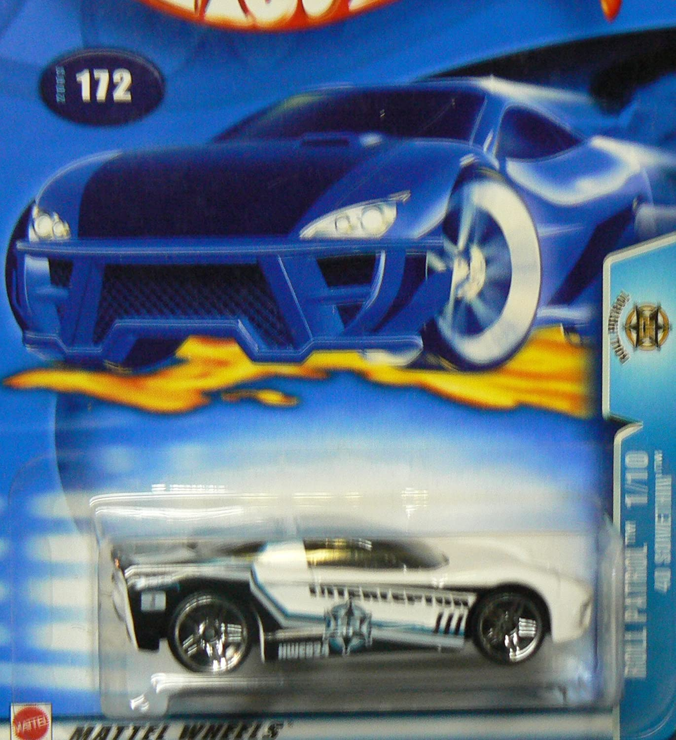Roll Patrol #1 40 Somethin #2003-172 Collectible Collector Car Mattel Hot Wheels