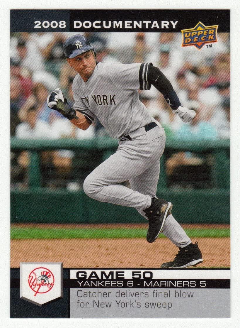 Derek Jeter (Baseball Card) 2008 Upper Deck Documentary # 1390 NM/M