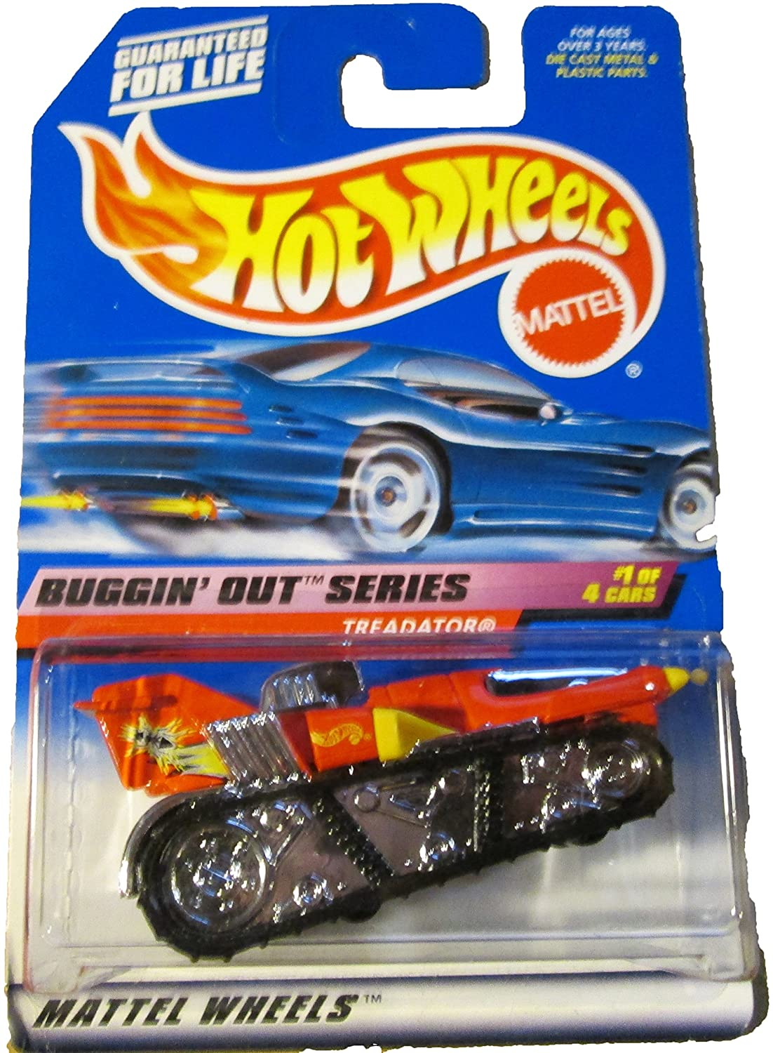 Hot Wheels 1999 #941 Buggin' Out Series TREADATOR 1:64 Scale