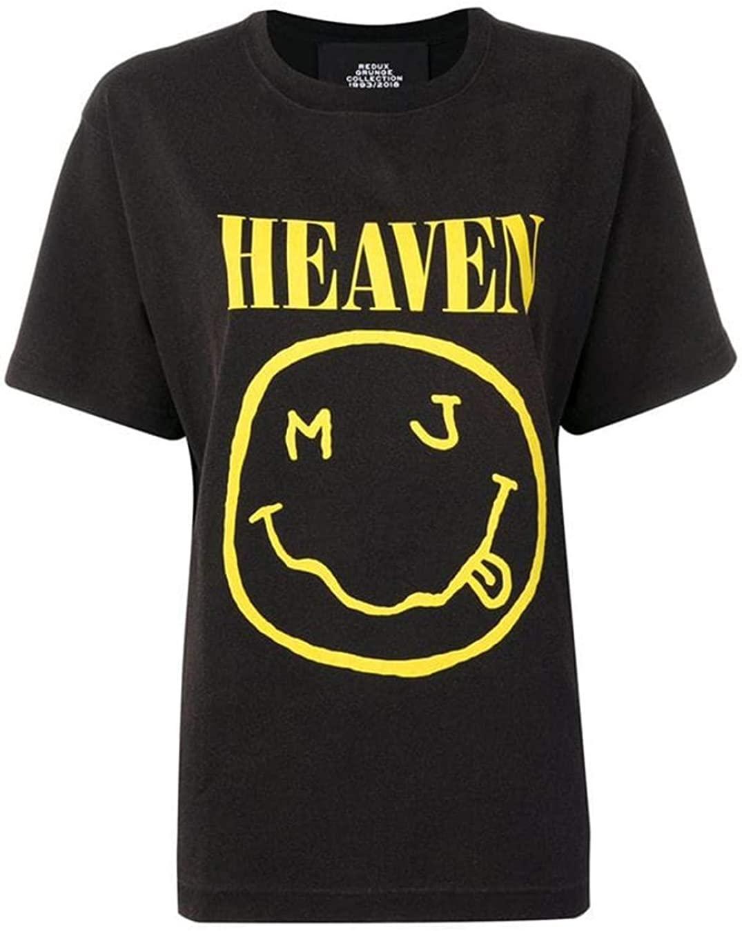 Marc Jacobs Nirvana Redux Grunge Heaven Oversize Unisex Tee Shirt