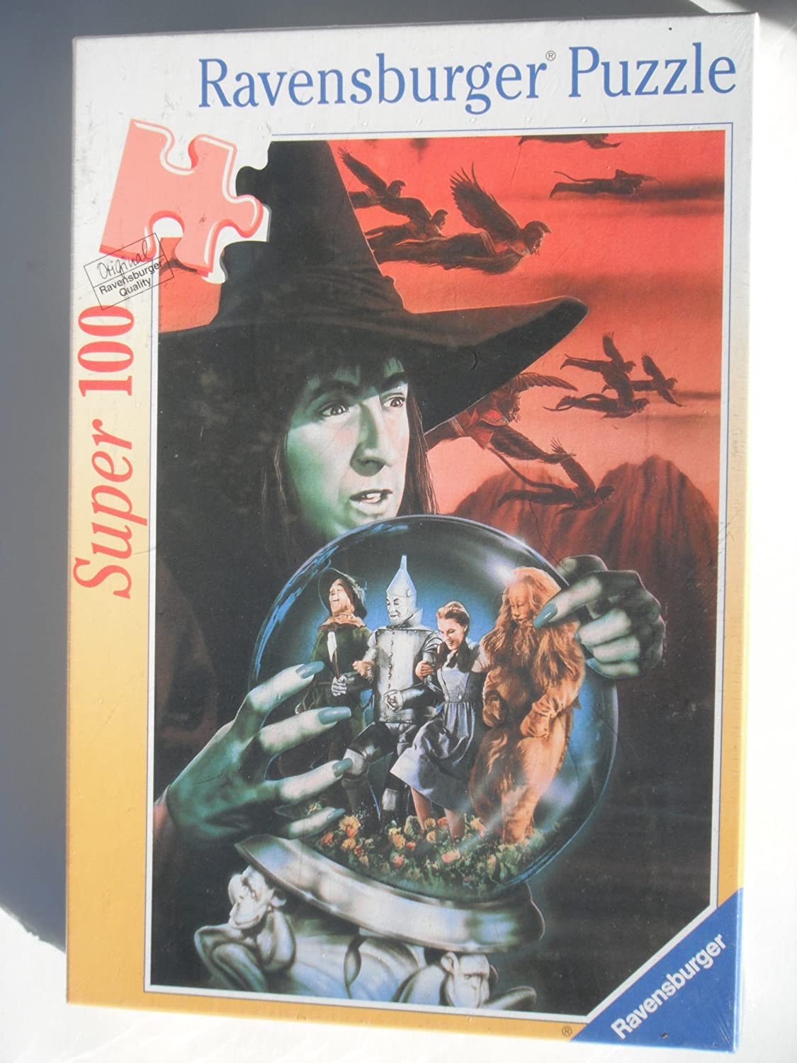 THE WICKED WITCH OF THE WEST: SUPER 100 PIECES RAVENSBURGER PUZZLE