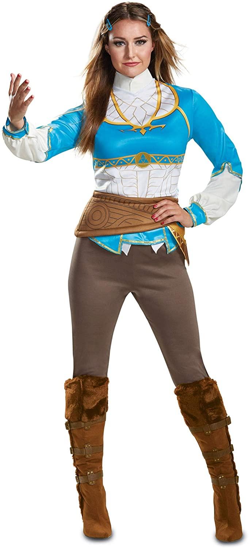 Disguise Women's Zelda Breath of The Wild Adult Costume