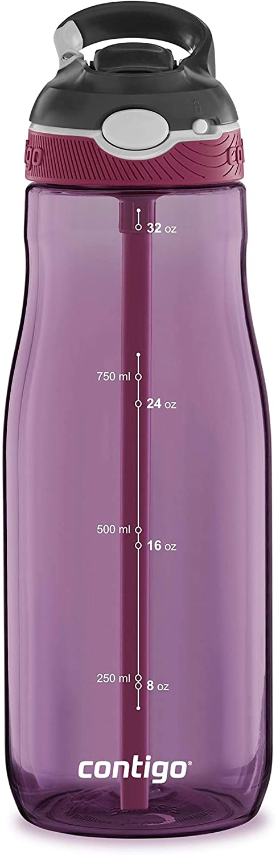 Contigo Ashland Water Bottle, 32 oz, Passion Fruit