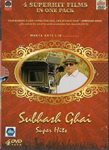 Subhash Ghai Super Hits (4 Dvd pack Taal / Pardes / Karma / Saudagar By Ultra DVD)
