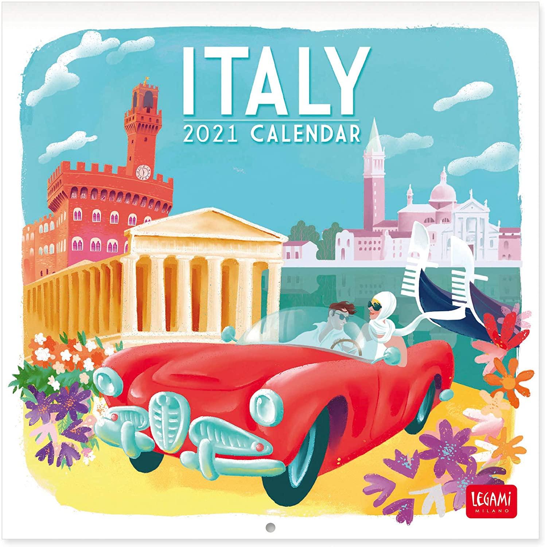 Legami 2021 Wall Calendar 18 x 18 cm Print Italy