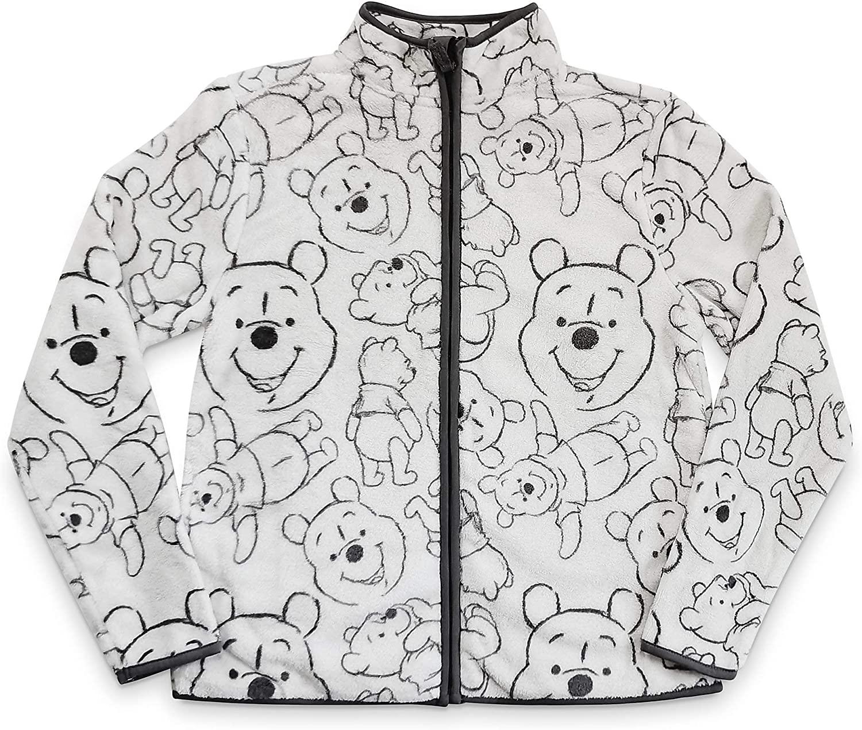 Disney Winnie The Pooh Zip Fleece Jacket for Women