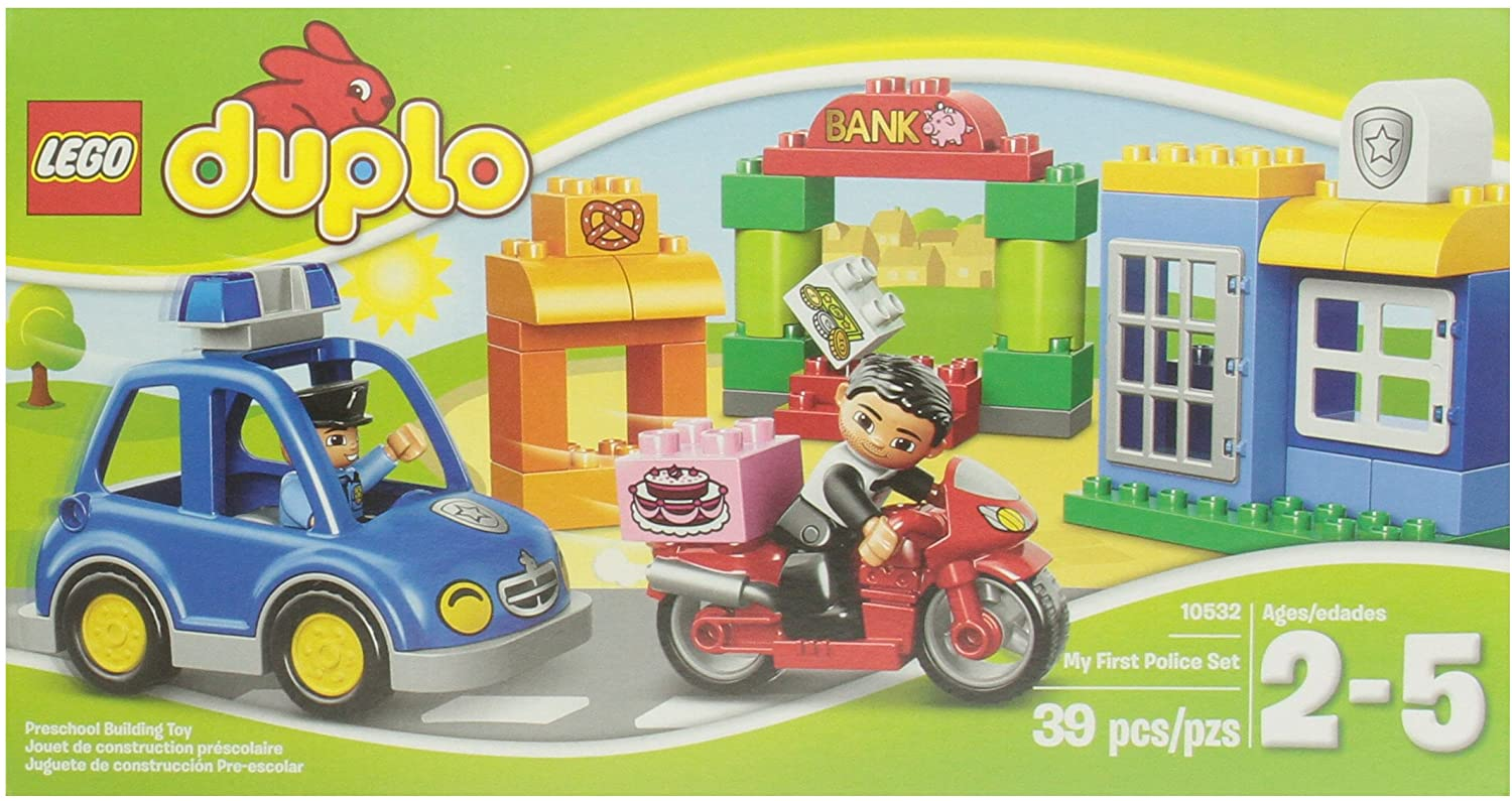 LEGO DUPLO Ville 10532 My First Police Set