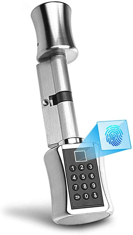 Fingerprint Door Lock Deadbolt 3 in 1 Keyless Entry Secure Finger ID Anti-peep Code, Open by Fingerprint Code Key, for Home Office Apartment Garage