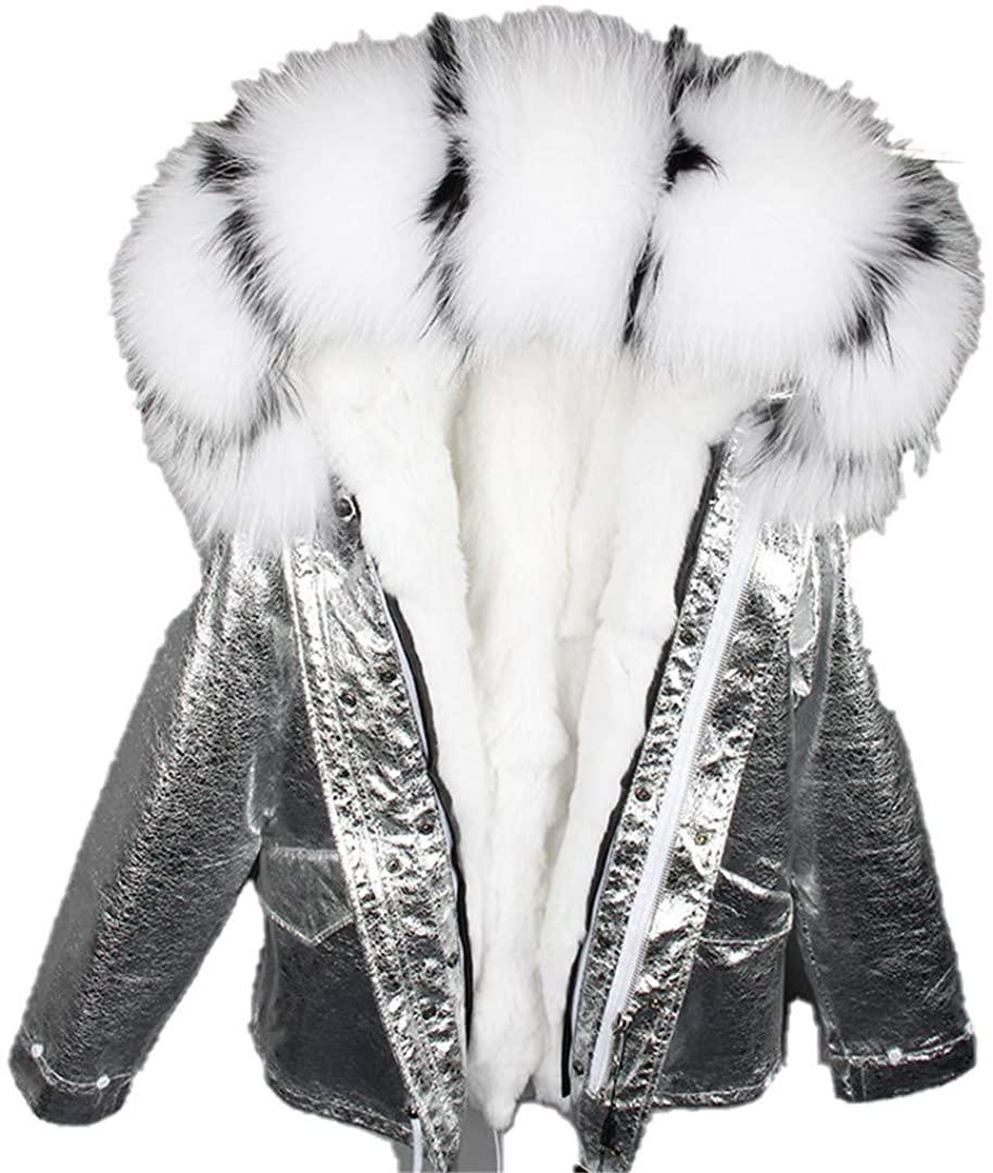Fur Parkas Winter Jacket Women Parka Real Fur Coat