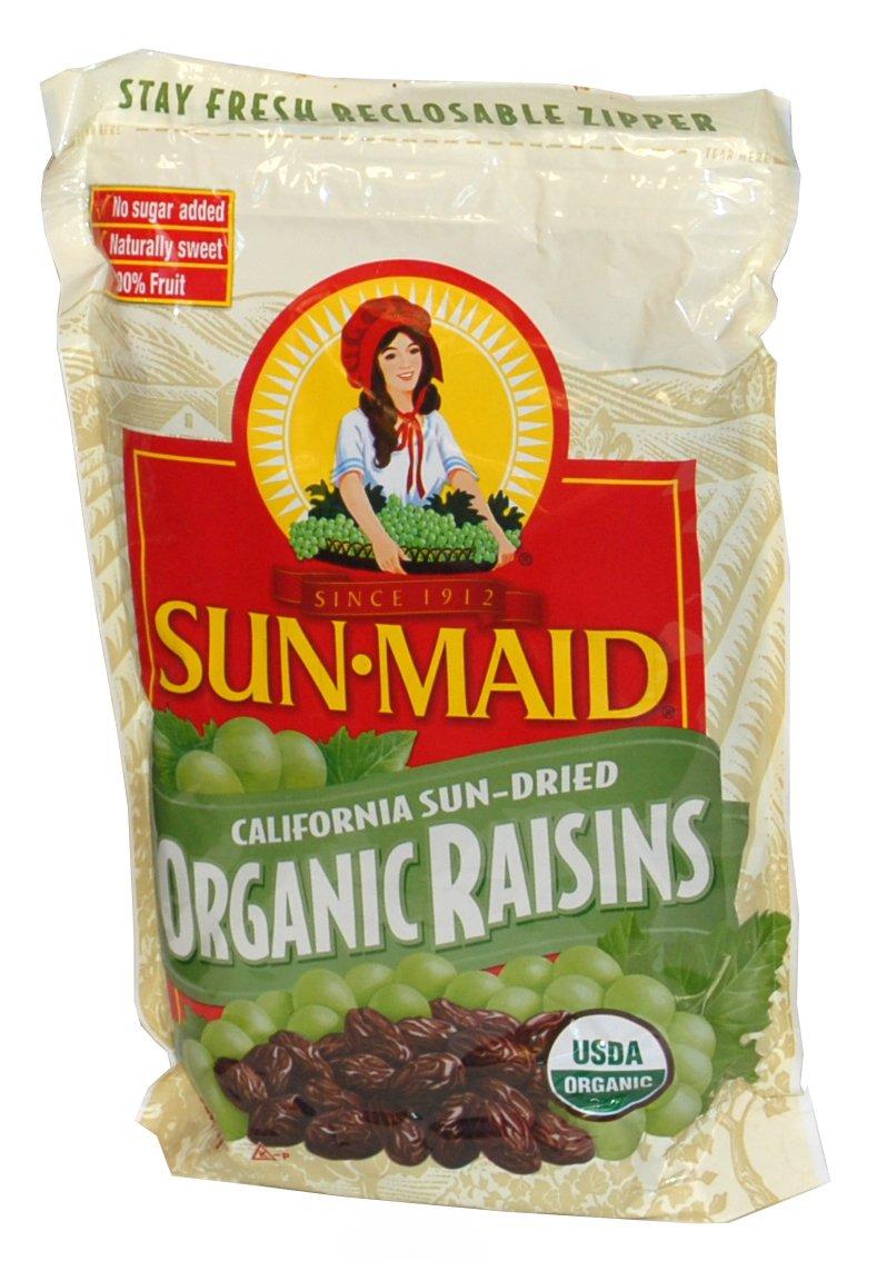 SunMaid California Sun-Dried Organic Raisins 32 Ounces