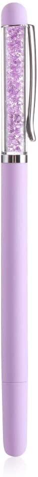 ARRIVEOK Point Drill Pen Arts Embroidery DIY Crafts Crystal Pens 5D Diamond Painting Cross Stitch(Purple)