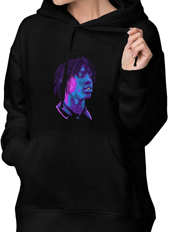 AP.Room Chief Keef Women's Fashion Hoodie Pullover Cotton Sweatshirt Front Pocket