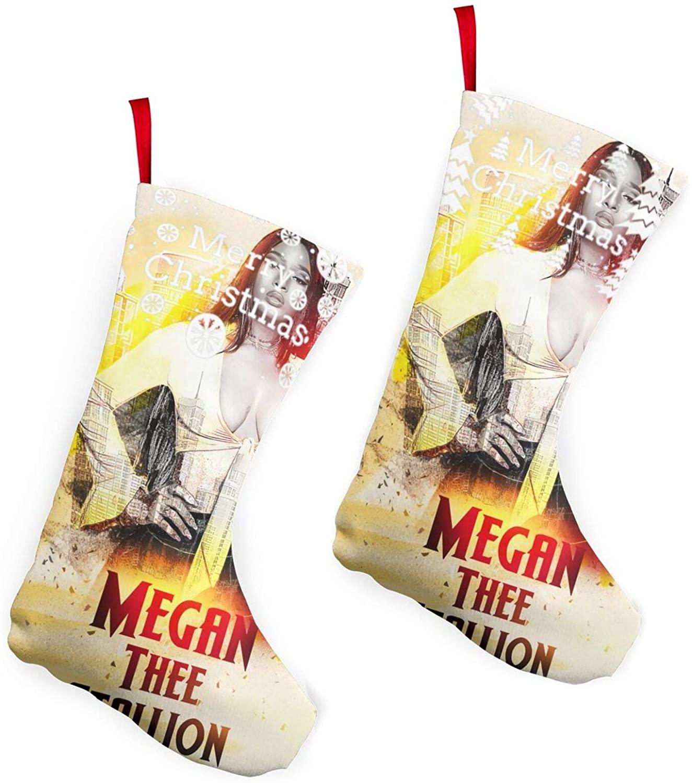 Megan Thee Stallionchristmas Stockings 2 Pcs Set 10