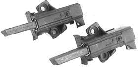 REPORSHOP - KIT ESCOBILLAS AEG/ZANUSSI 12,5 x 6,3 x 36mm Faston 2,8mm C.O.50265474002 4